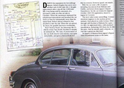 Jaguar World October 2000 – Jaguar 2.4