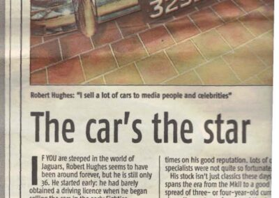 The Daily Mail 2001 – The car's the star
