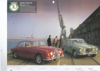 Classic & Sports Car feature reused for their 2012 calendar
