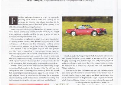 Article written by Robert Hughes – Sports Cars