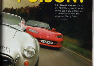 Classic & Sports Car February 2008 – Dodge Viper supplied