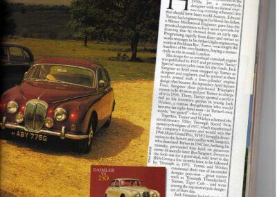 Classic & Sports Car – Daimler V8 250 supplied