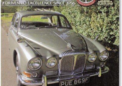 Jaguar Driver March 2012 – Daimler supplied and restored