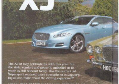 Jaguar World Monthly June 2012 – Daimler supplied