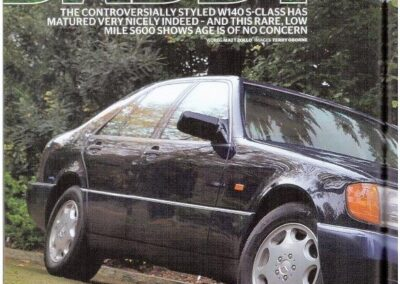 Mercedes Enthusiast July 2013 – Mercedes supplied