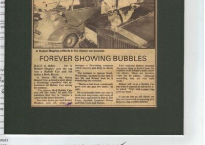 Surrey Herald 1988 – Forever blowing bubbles