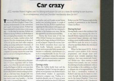 City Reviw 1996 – Car crazy