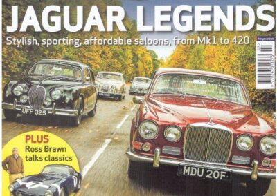 Classic & Sports Car February 2016 – Jaguar S Type, Mk 2 and S Type supplied