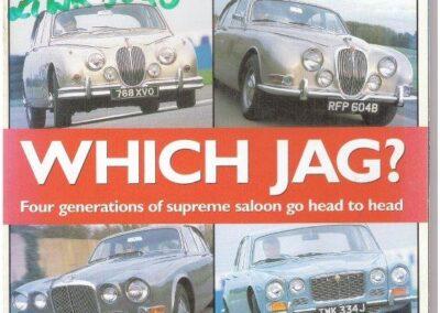 Classic & Sports Car January 2002 – Jaguar 420 and XJ6 supplied