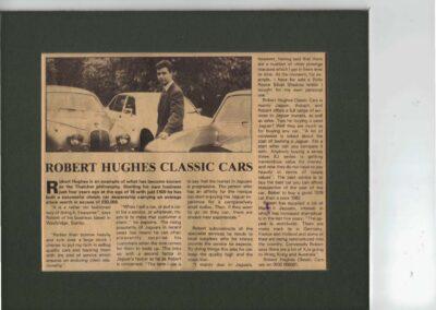 Circa 1987 – Robert Hughes Classic Cars