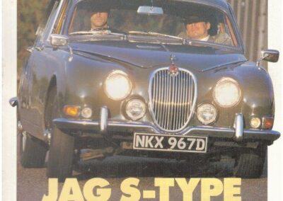 Classic & Sports Car 1992 – Jag S-Type Swinging 60's Saloon