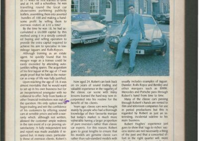 Old Car October 1989 – From Jags to Riches