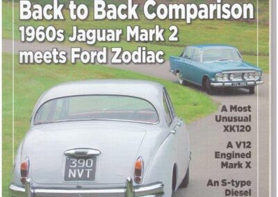 Jaguar Enthusiast 2013 – Zodiac and Mk 2  prepared and supplied