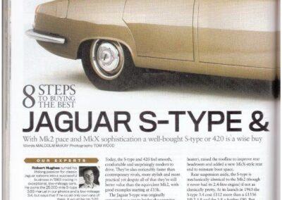 Classic Cars 2016 – Jaguar S Type supplied
