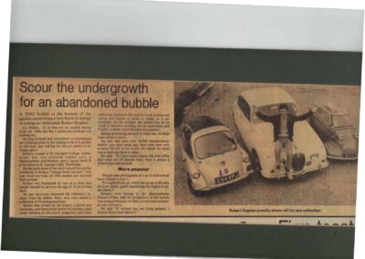 Surrey Herald 1983 – Scour the undergrowth for an abandoned bubble