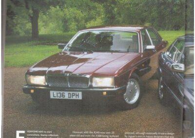 Jaguar World August 2012 – Jaguar XJ40 supplied